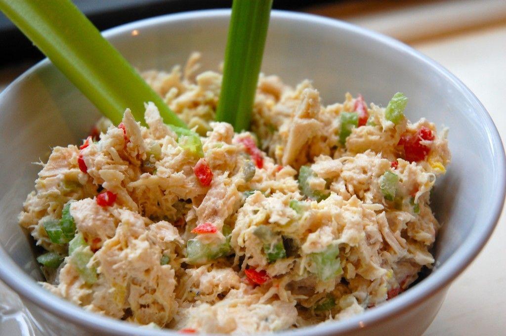 Creamy chicken salad with images veg recipes chicken