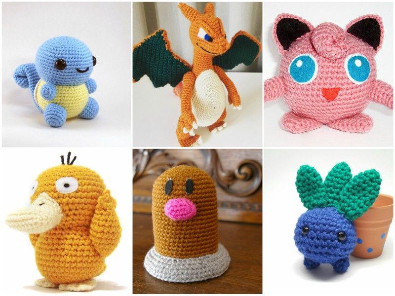 11 X Crochet Pattern Pokemon Go Free Crochet Pinterest