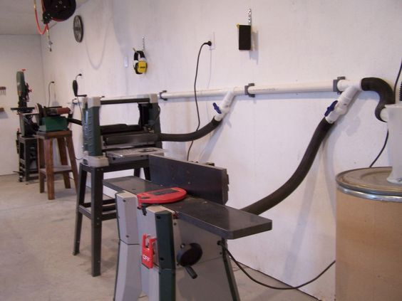 DIY Shop Vac Dust Collector Wood WorkshopGarage WorkshopWorkshop IdeasWorkshop LayoutWorkshop