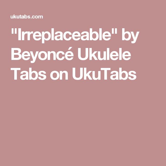 Irreplaceable\
