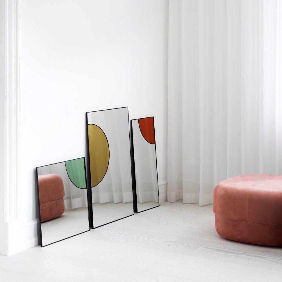 Photo of Mirage mirror 50×50 cm from Tivoli by Normann Copenhagen – NordicNest.com