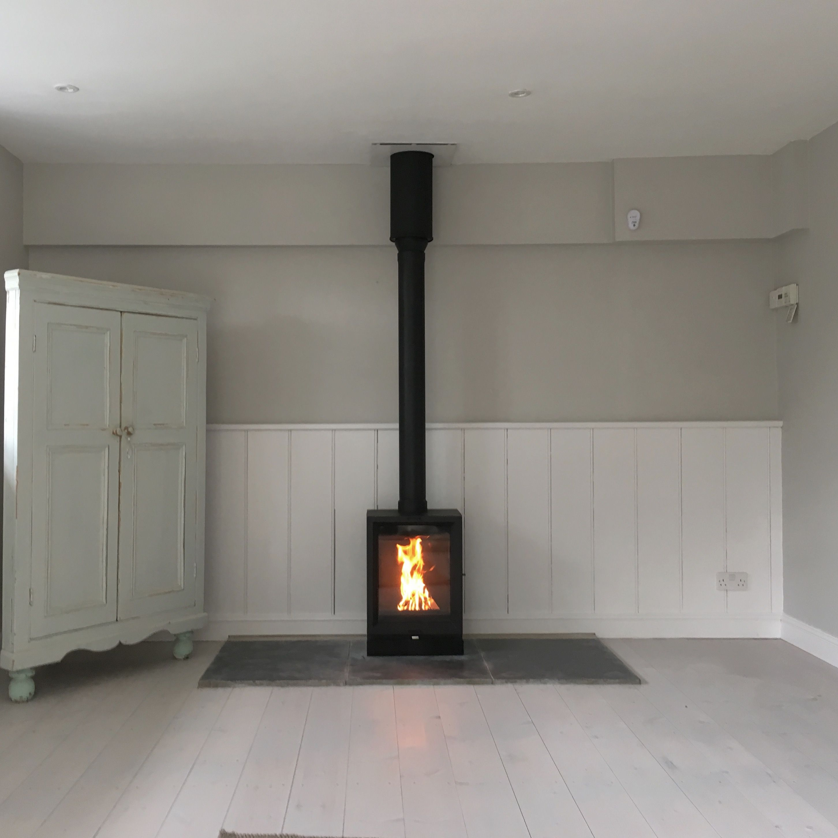 Stovax View 5t With Twin Wall Flue System Stove