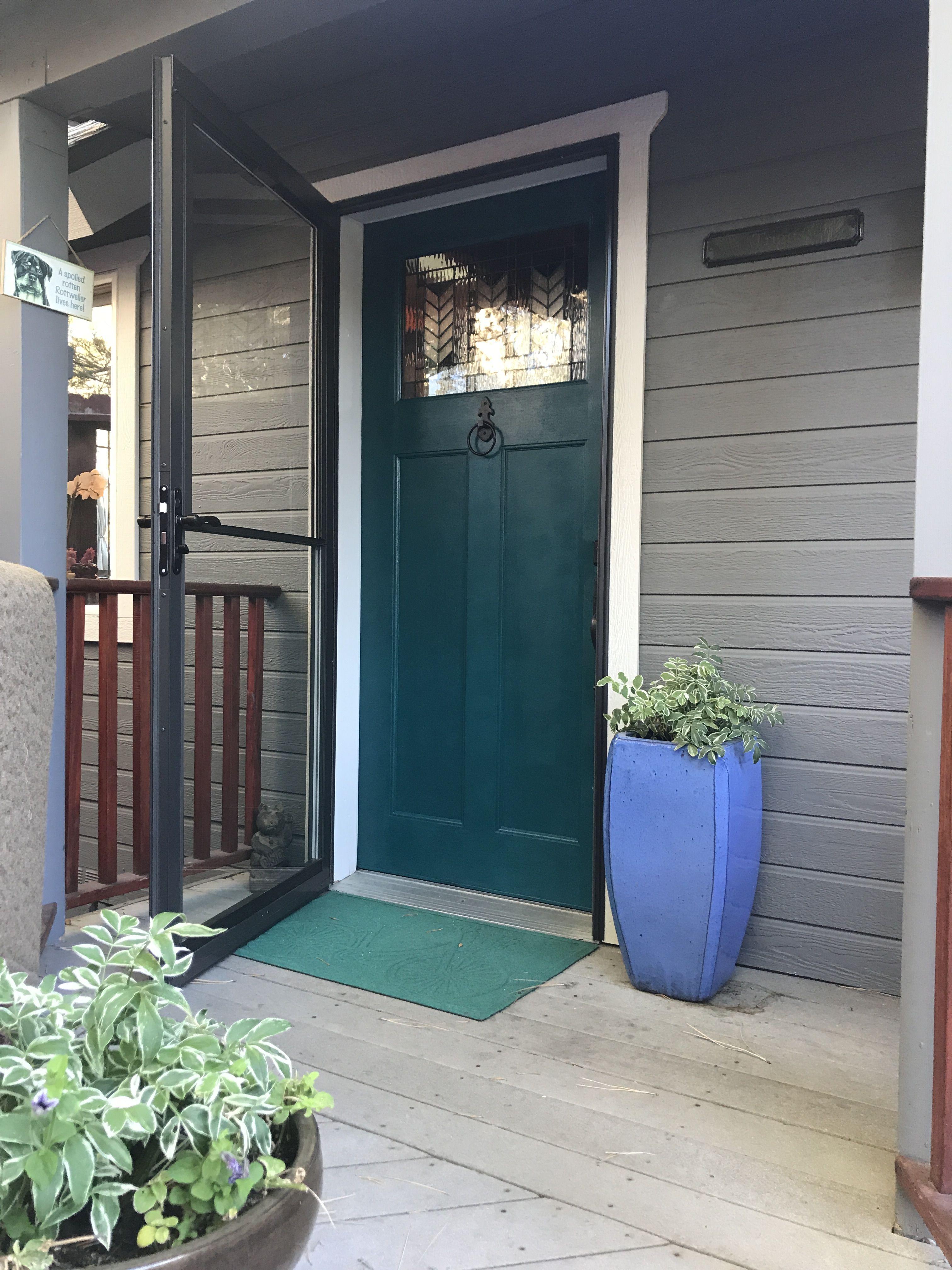 Sherwin Williams Blue Peacock Front Door Colors
