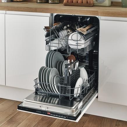 AEG slimline fully integrated dishwasher | Bayville House ...