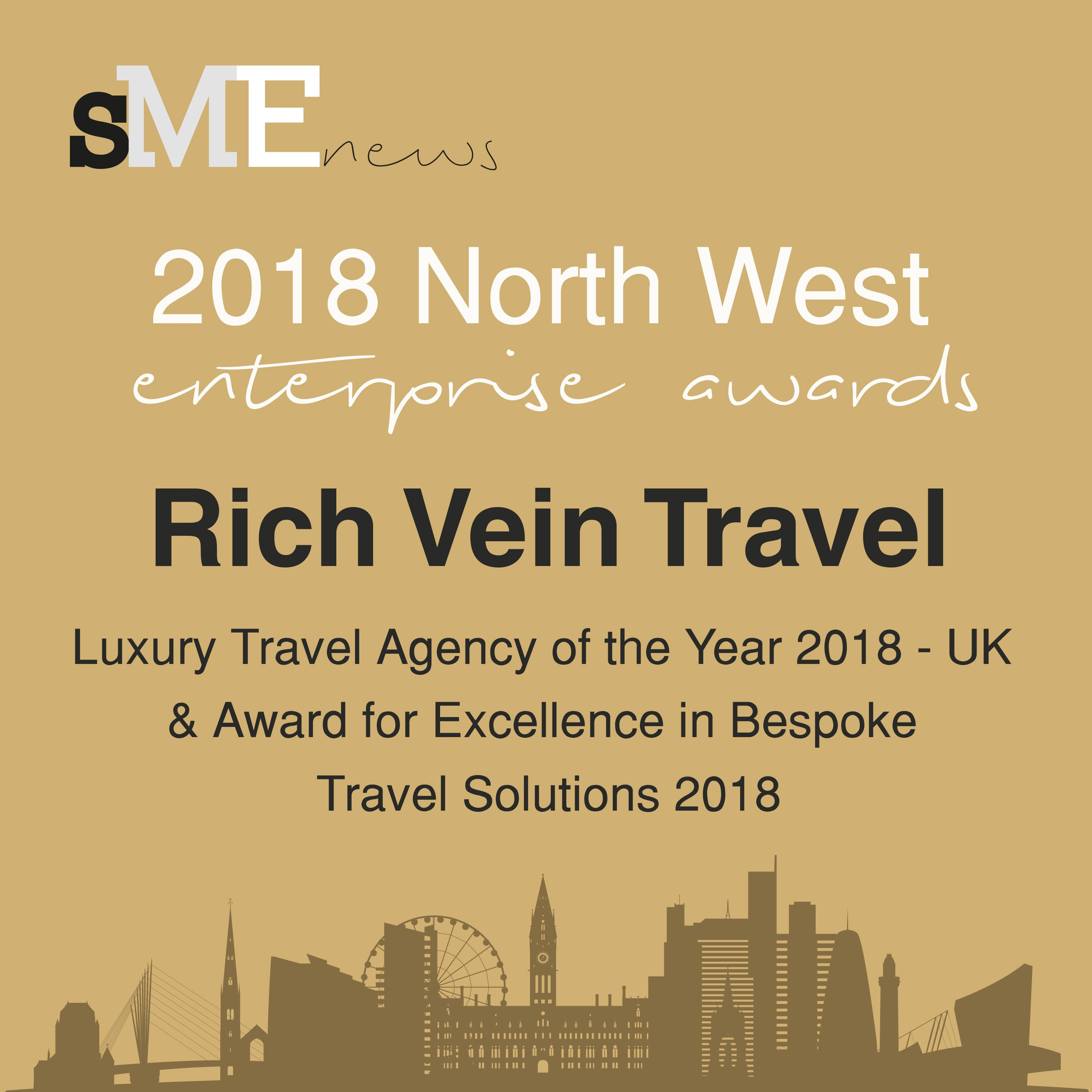 0e4e78a44b1 We've just been named the best luxury travel agency in the North West! If  you're thinking about booking your next holiday, why not contact us today?