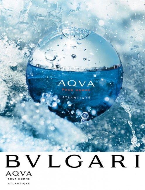Bvlgari Aqva Pour Homme Atlantiqve Kv In 2019 Perfume Ad