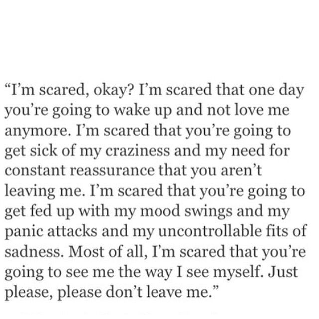 do not leave me quotes