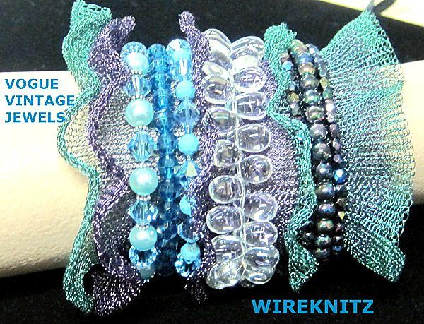 vintage inspired wire cuff