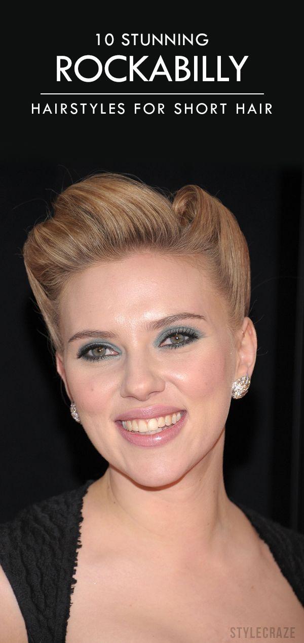 10 Stunning Rockabilly Hairstyles For Short Hair Really Short Hair Rockabilly Hair Retro Hairstyles