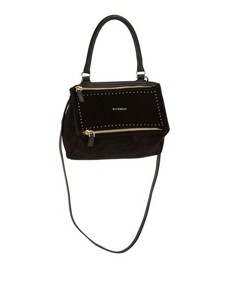 02eb01ae438 GIVENCHY Pandora Small Suede Top-Handle Bag, Black. #givenchy #bags #shoulder  bags #hand bags #suede #