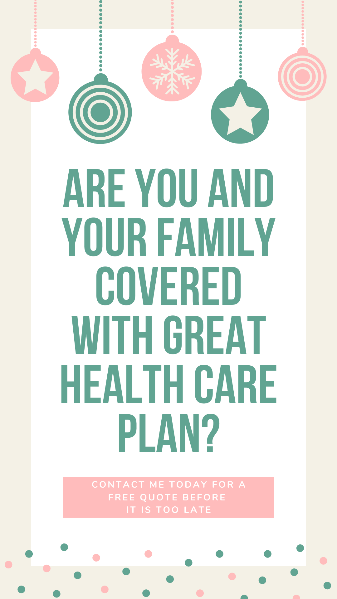 Let me help you, your family and employees the best health ...