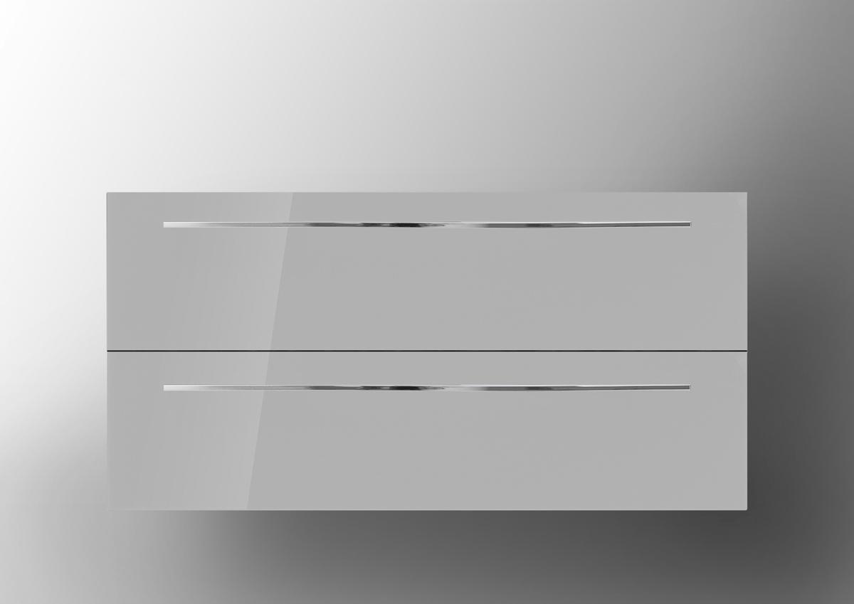 Unterschrank zu Keramag iCon 75 cm Waschbeckenunterschrank-grau ...