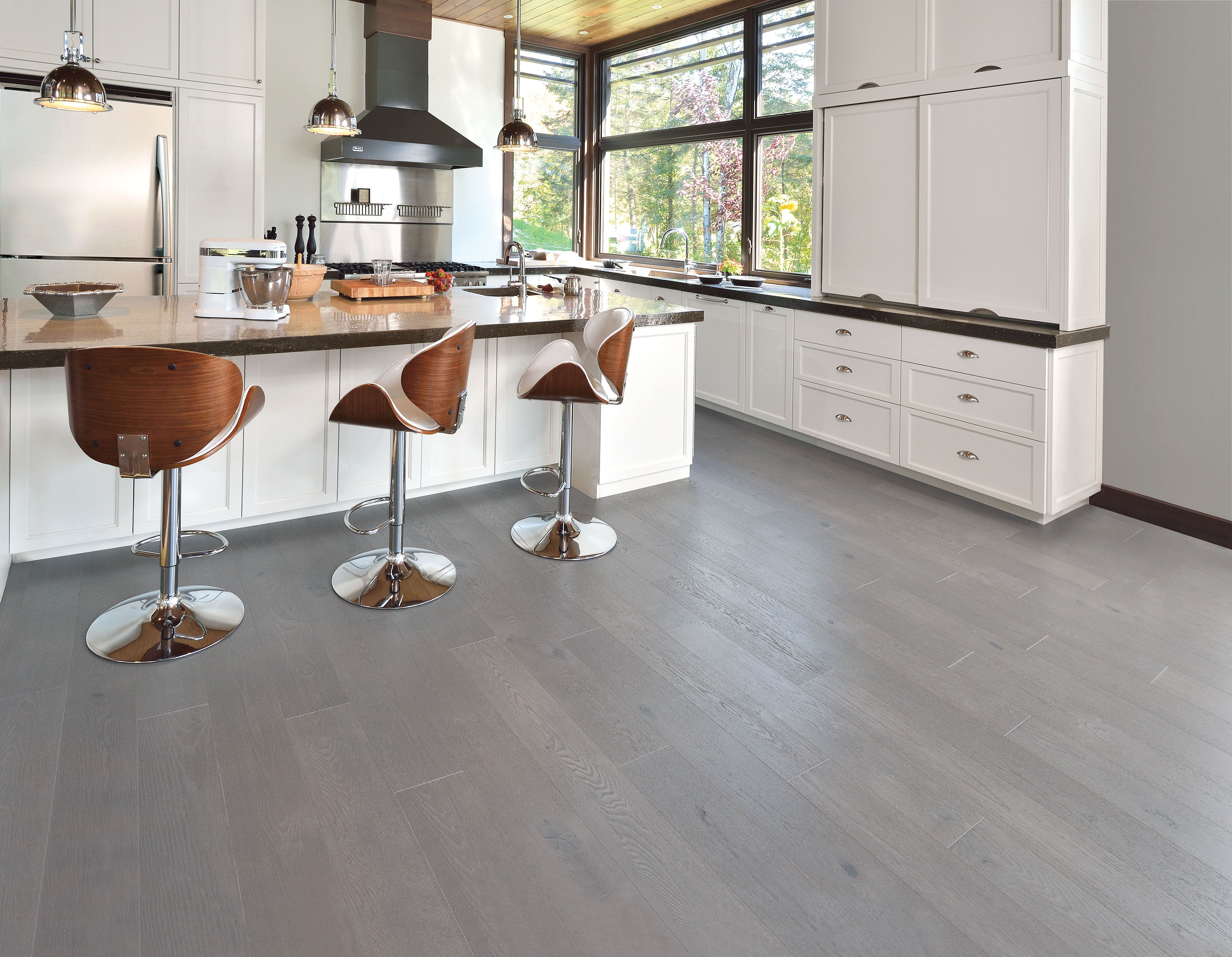 Handcrafted Red Oak Hopscotch - Mirage Hardwood Floors ...