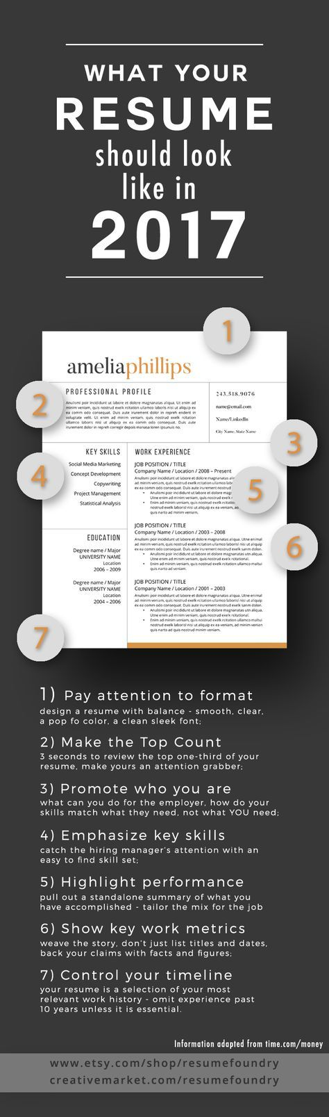 7 tips to transform your resume to 2017 Check out the article at