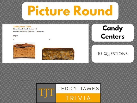 Picture Round For Bar Trivia Candy Centers Game 1 Trivia