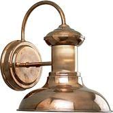 """Wayfair - Brookside Copper  Outdoor Wall Lantern   $100.00  8-1/16"""" x 9.75"""" H x 8"""" W x 9.75"""" D"""