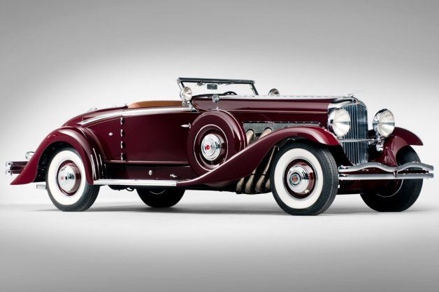 1935 Duesenberg Model SJ Convertible Coupe