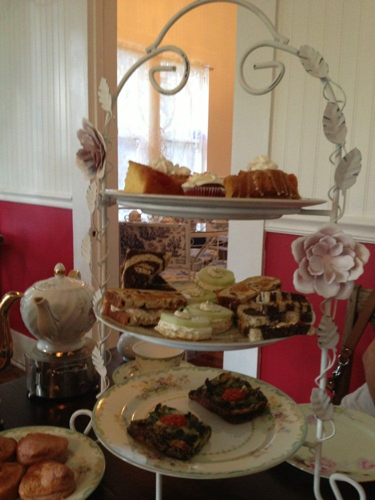 Afternoon tea at Tilted Teacup
