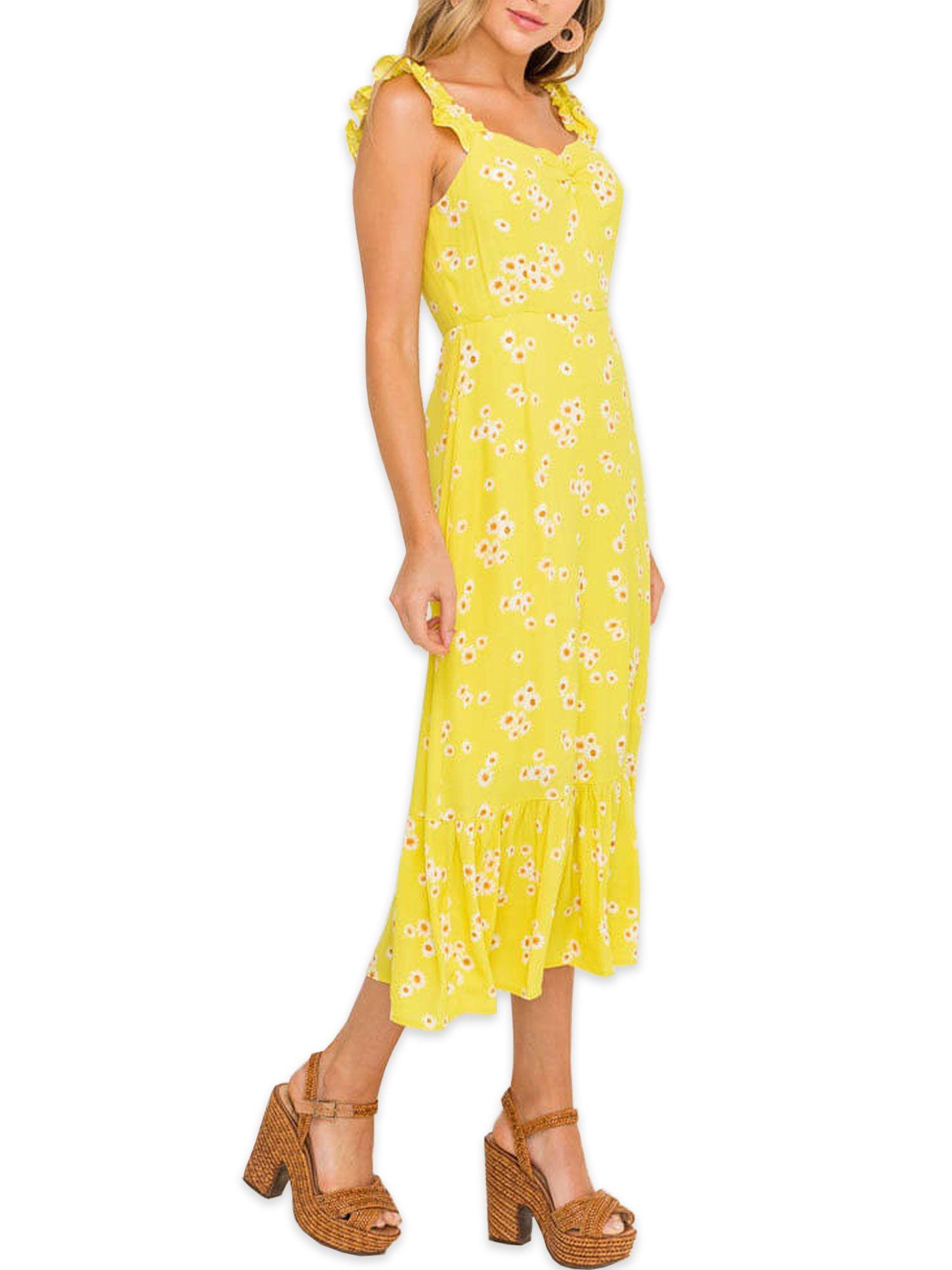 Lush Clothing Lush Clothing Ruffle Strap Midi Dress Walmart Com Lush Clothing Dresses Midi Dress [ 2000 x 1500 Pixel ]