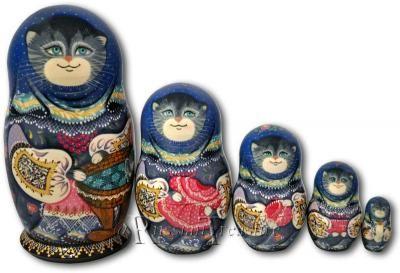 Mother Cat - Matryoshka