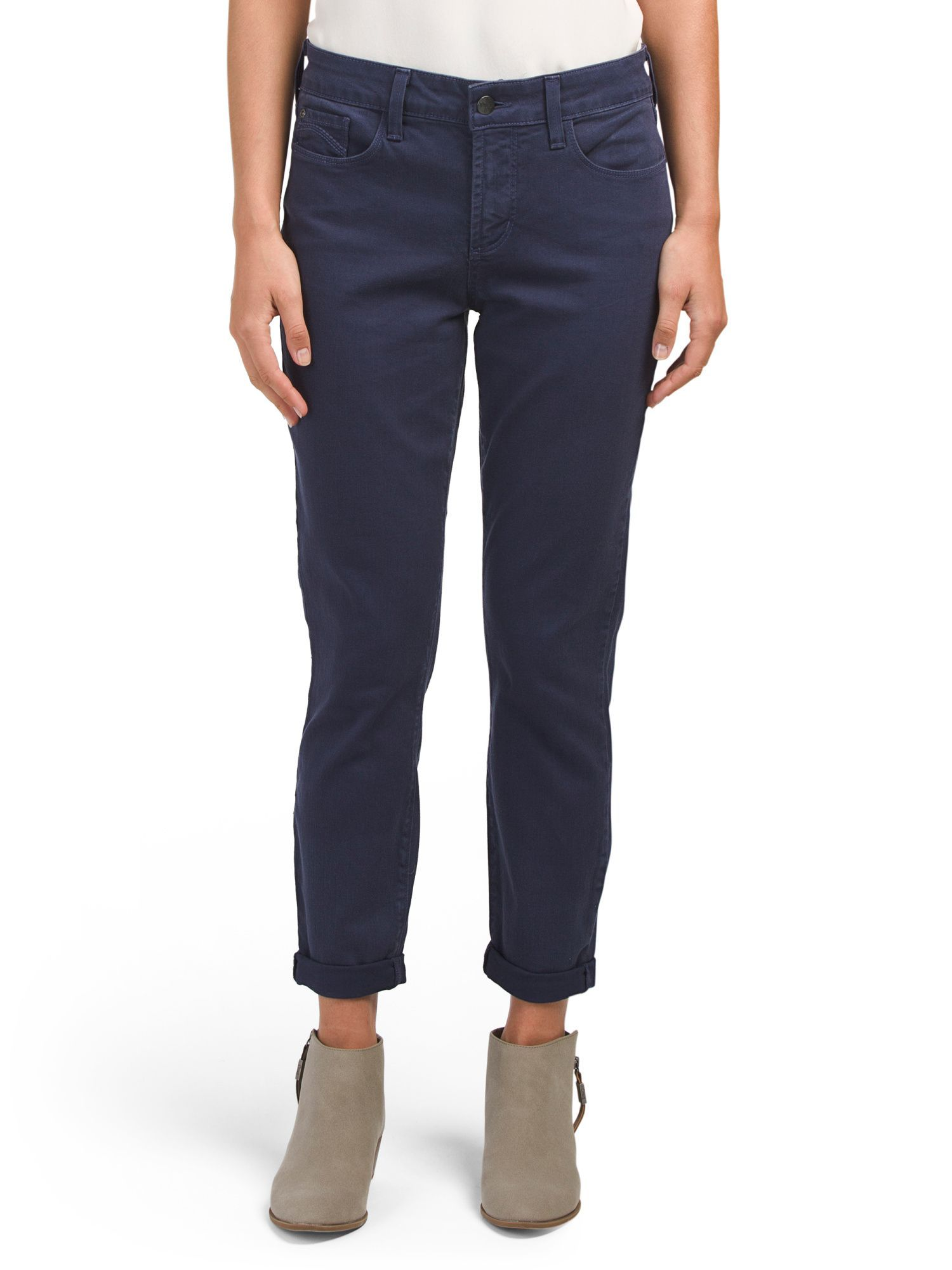 Made In USA Rachel Rolled Cuff Jeans