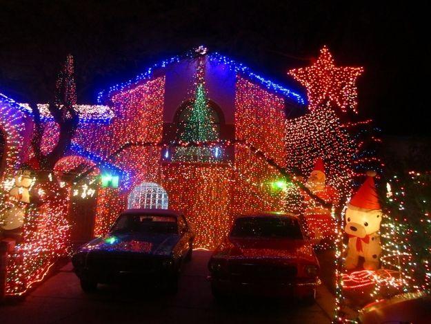 The Arizona Celebration Of Lights In Phoenix Arizona Xmas Lights Christmas Lettering Christmas Decorations