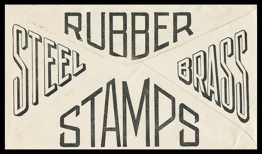 Northwestern Stamp Works | Sheaff : ephemera