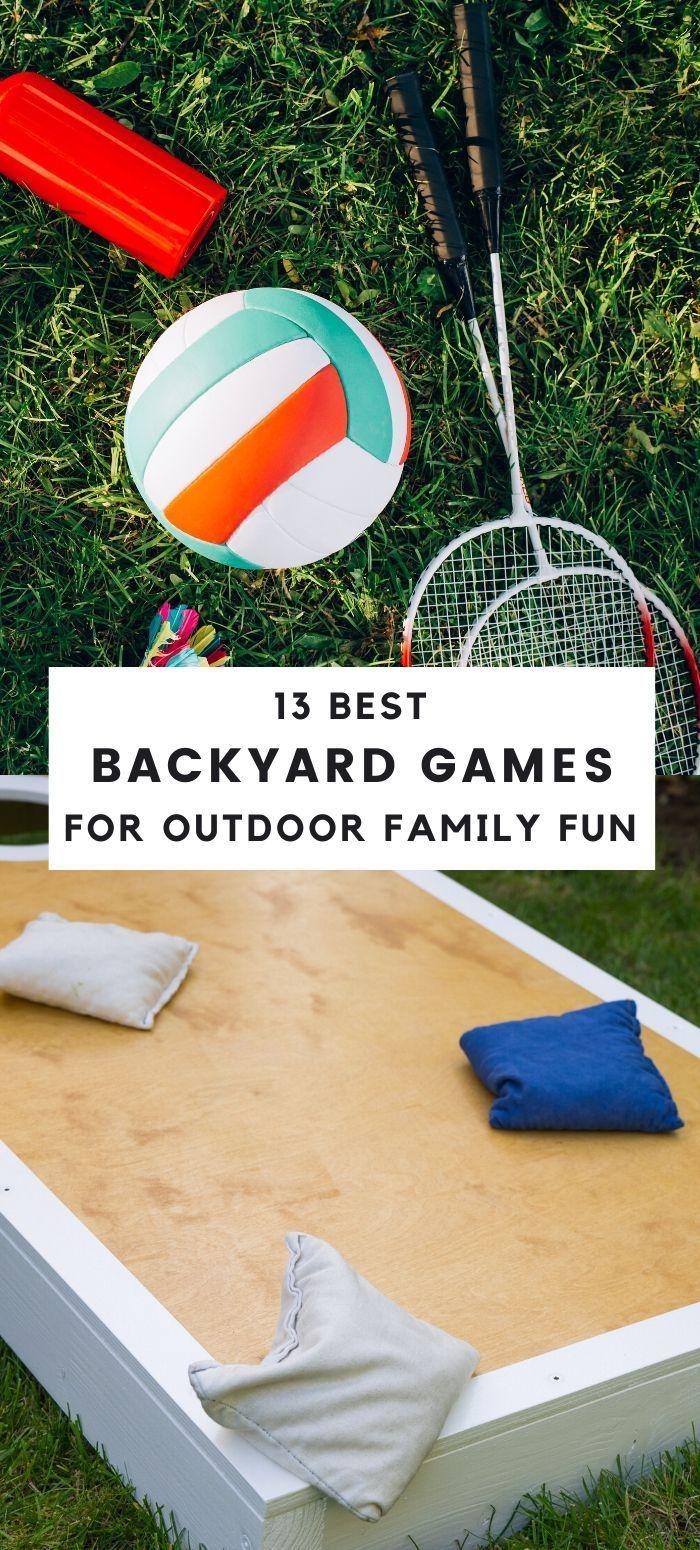 13 Fun Yard Games for Outdoor Family Fun Outdoor games