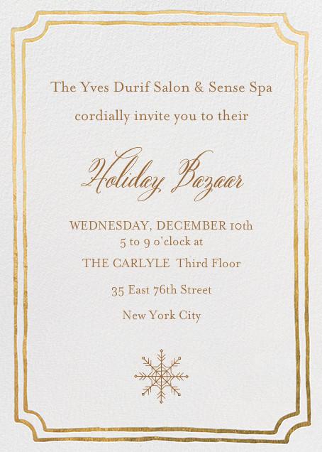 Yves Durif Salon Holiday Bazaar, Wednesday, December 10th
