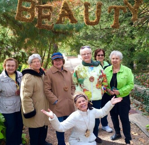 A few ladies from Project Beauty visit the Arb - Fall 2015