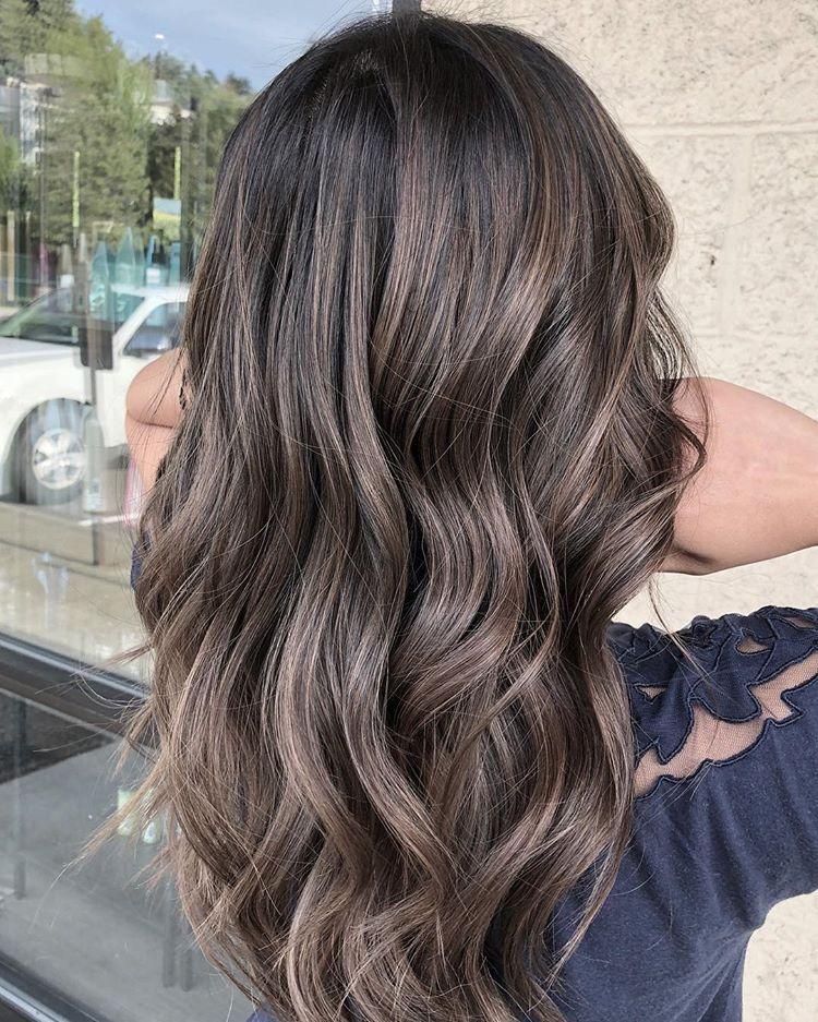 Dimensional Ash Brown Brown Ombre Hair Ash Brown Hair Color Ash Hair Color