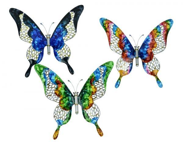 Home :: Metal Wall Art :: Wildlife Wall Decor :: Wall Butterfly U0026