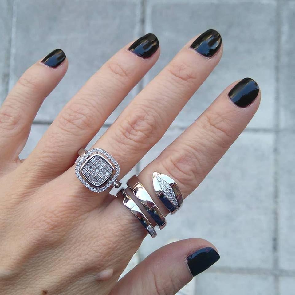 Ασημένια Δαχτυλίδια γυναικεία  34399e110cb