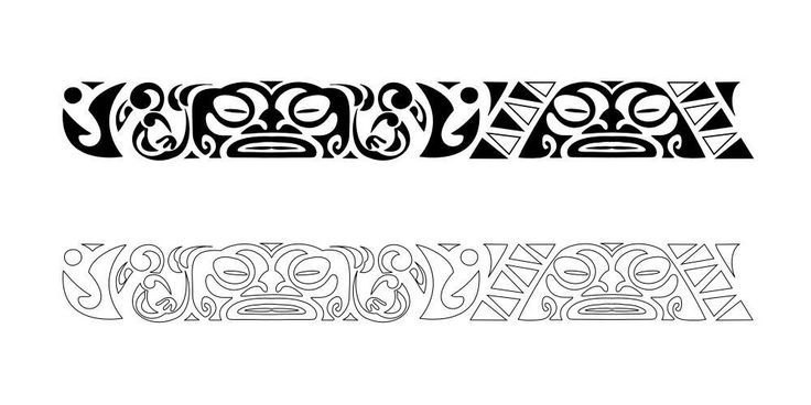 Maori Armbands Tattoos Maori Armband