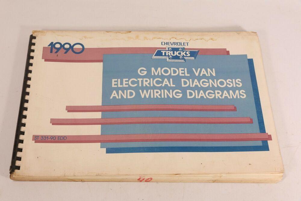 Advertisement Ebay  1990 Chevy G Van Wiring Diagram