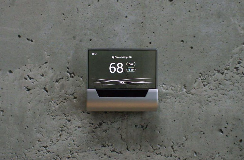 Hive 2 Makes The Thermostat A Chic Decoration Hands On Smart Home Security Thermostat Home Automation