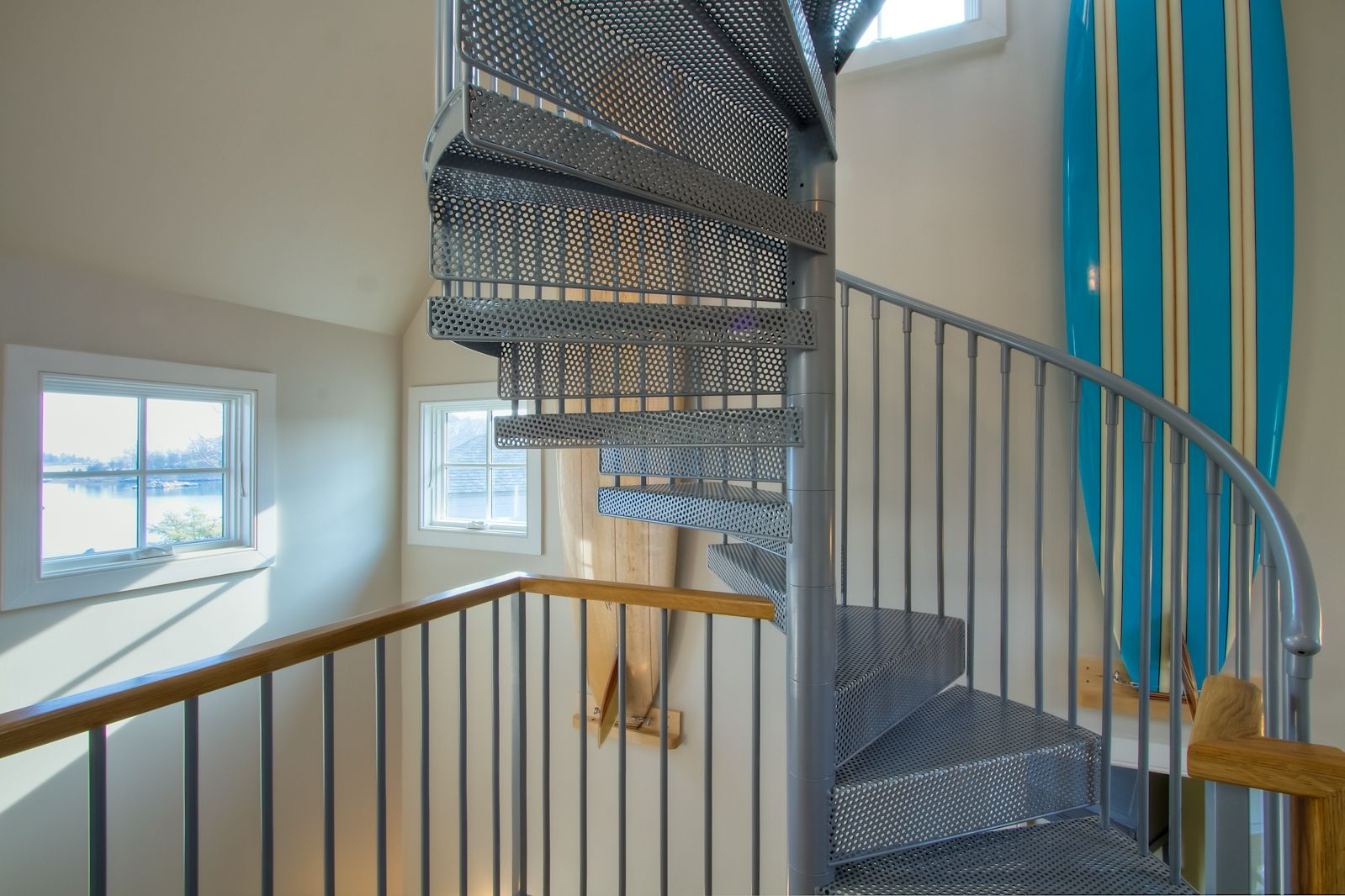 Best Residential Spiral Stair To An Observation Deck Ct 400 x 300