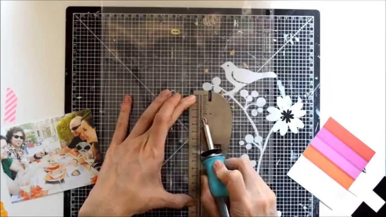 Vídeo personalizando una funda de #projectlife con la #fusetool de #wermemorykeepers