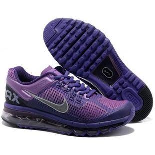 Nike Air Max 2013 Men Light Dark Purple. Women Running ShoesShoes ...