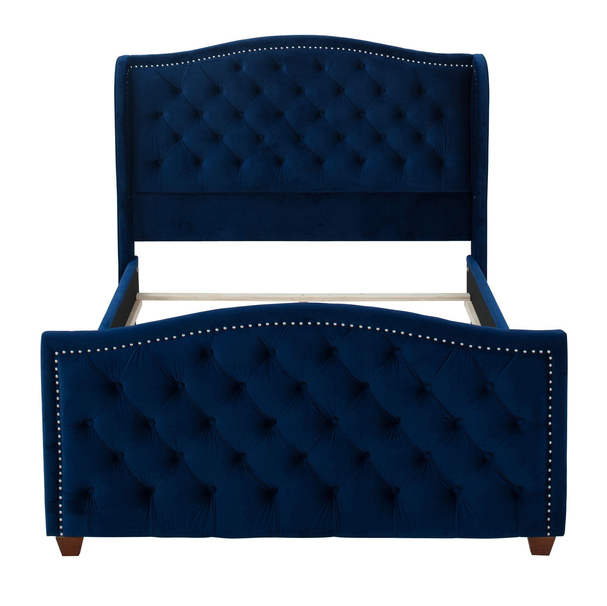 Attenborough Tufted Upholstered Panel Bed | Products