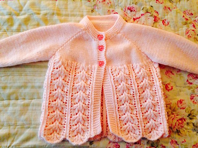 Ravelry Project Gallery For Baby Layette Jacket Bonnet Pattern