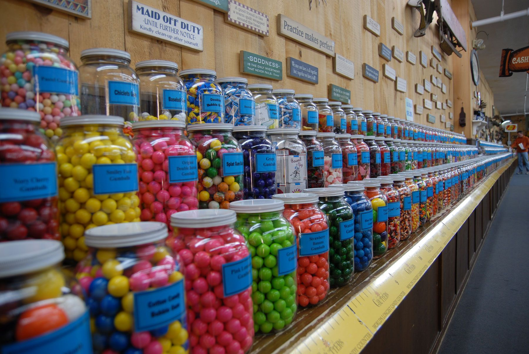 Chutters- Home of the Worlds Longest Candy Counter at 43 Main ST ...