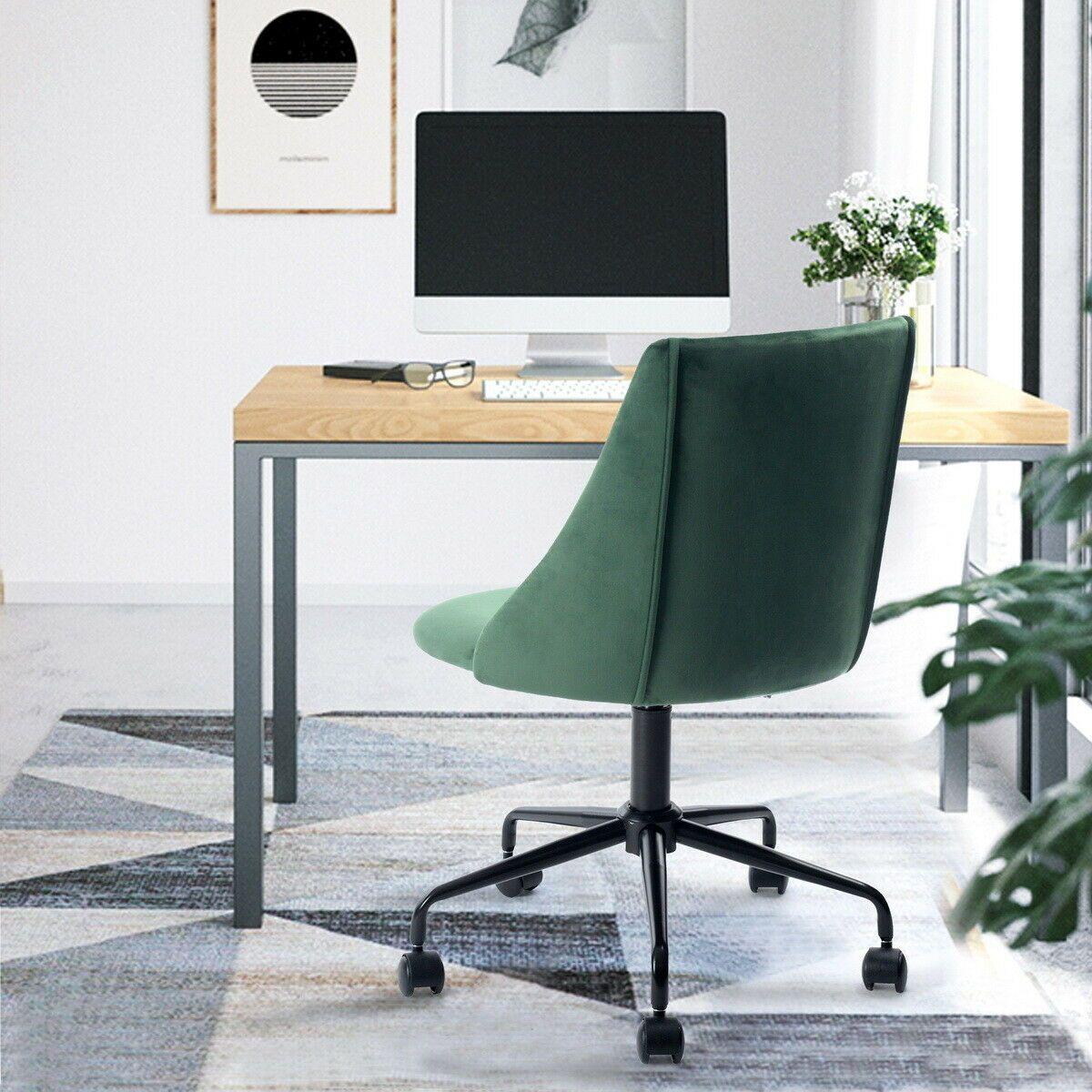 Ergonomic Desk Chair Adjustable Swivel Office Accent Chair ...
