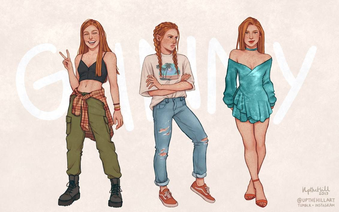 Ginny By Upthehillart On Deviantart In 2020