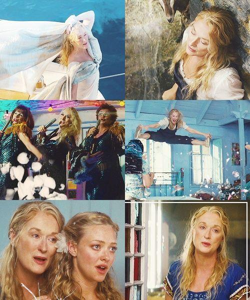 Pin By Lane On Mamma Mia In 2019 Mamma Mia Musical Film Meryl