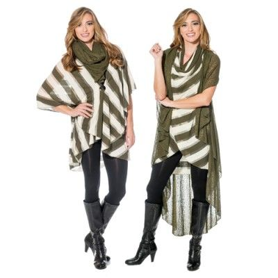 The delicate shimmer combined with the gorgeous green gives the perfect hint of glam to any outfit. Cover up in this Seattle inspired Shawl Duo to wow the crowd.