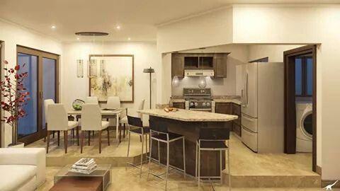 Cocina-comedor | ideas de diseño | Pinterest | Cocina comedor ...