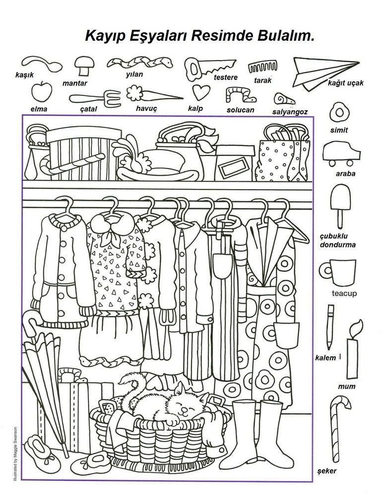 Wunderbar Finden Sie Die Versteckten Objekte Arbeitsblatt Galerie ...