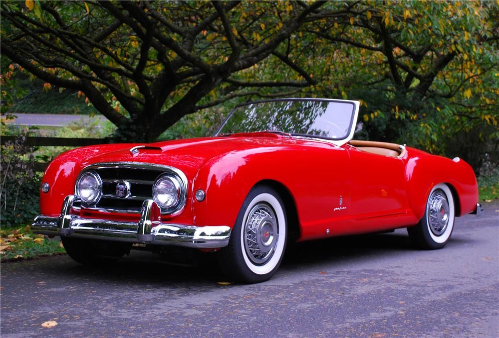 Nash Healey Roadster The Nash Healey Is A Two Seat Sports