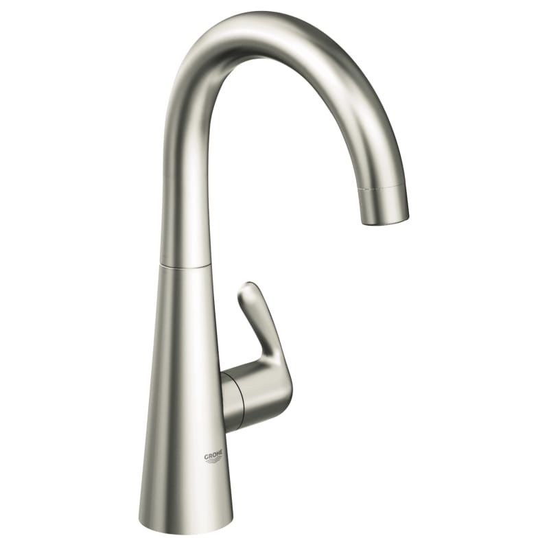 Grohe 30 026 Stainless Steel Faucets Faucet Bar Faucets